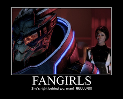 Demotivator: Fangirls by admiral-squee