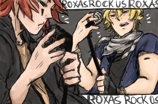 Roxas rock us by Gamesoul