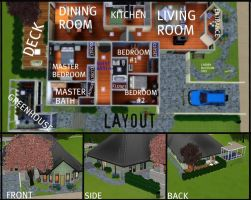 House 2 Layout by arymay2013