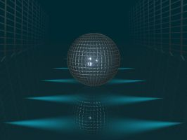 Sphere Wireframe by drawn