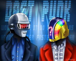 Daft Punk by metal-marty