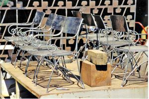 Chairs by ou8nrtist2