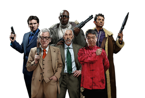 Gangs of London Line-up by juliangibson
