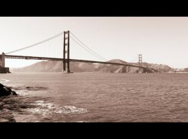 At the Golden Gate by roamingtigress