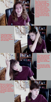 FTM Crossdressing Tutorial for Long-ish Hair by TheMistressOfAnime