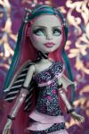 Glamorous Rochelle - Monster High Repaint by ivy-cinder