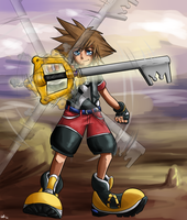 Sora Arttrade by Pon3Splash