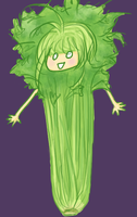 Celery Head by kassie