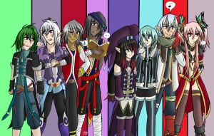 ToDA - A Group of Order and Chaos by Nera-loka14