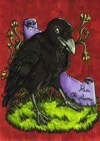 Pan The Raven by Yaraffinity