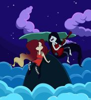 Kiri and Marceline by Che-Crawford