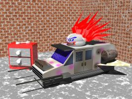 Sweet Tooth-Twisted Metal by Kennysorel