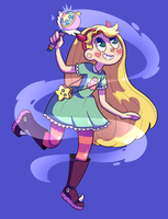 star vs the forces of evil (speedpaint) by Paryficama