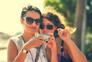 Taking photos gives smiles. by Lukreszja