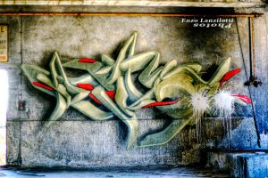 Alumix factory: Murale RR by Brompled