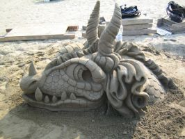 Sand Dragon Profile Left by Suzuko42