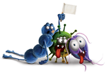 Bacteria Characters by smrkandil