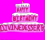 Happy Birthday DivineDesserts by Anime-iac