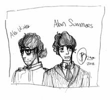 Alan Summers Alex Winter sketch 1 by suizome