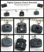 Digital Camera Charm Bracelet2 by chat-noir
