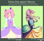 Improvement Meme: Portrait of  a Princess by Vivifx