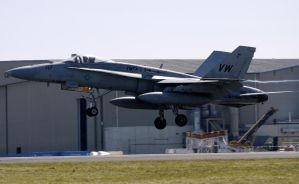 Boeing MDD F-18C Landing by shelbs2