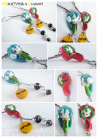 Matryoshka Charms by DigiKat04