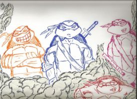 TMNT by kylemulsow