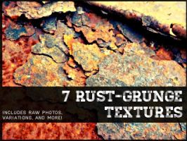 7 High-Quality Free Rust-Grunge Textures by Kniye