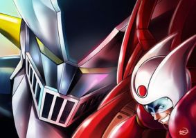 Mazinger by IS by Orangerender