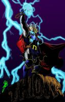 Thor by sideboard by wrathofkhan