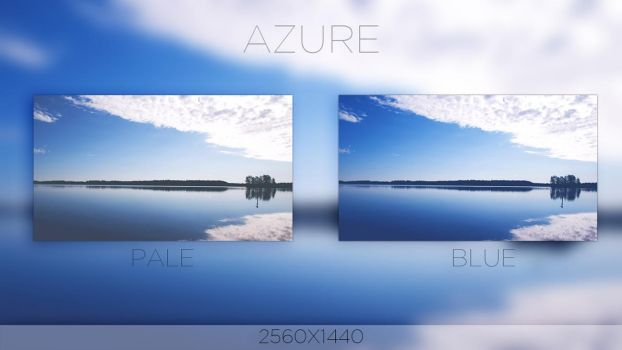 Azure Wallpaper by rudolfzz111