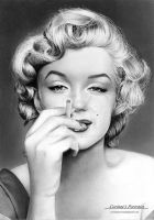Marilyn Monroe by Sadness40