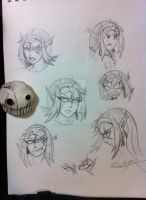 Laurada Face Expressions by Primogenitor34