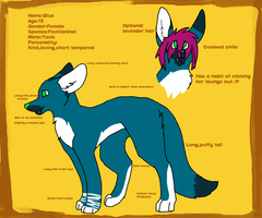 Blue Detailed Reference Sheet by Blue-Creamy-Butt