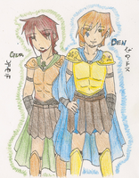 Gur and Den by KimikoNyanChan