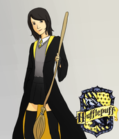i'm a hufflepuff by staelus