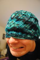 Beanie for the Hubby by cyla-knits