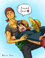 Zoro x Luffy Strong World by Ruki-fan