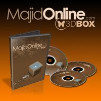 Majid Online 3D Box by sarakhanoom