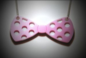 Bowtie Necklace by CMDCustom