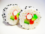 Sushi rolls 2 by lava-tomato