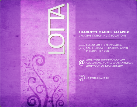 Business Card2 by AqCLotta071091