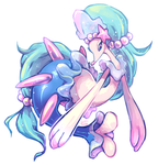 Primarina by ground-lion