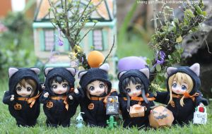 K-On Happy Halloween by kixkillradio