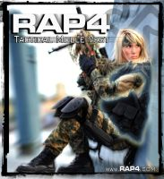 RAP4 Tactical MOLLE Vest by RealActionPaintball