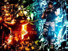 Resident Evil 5 Chris Redfield by DANCE-of-COBRA