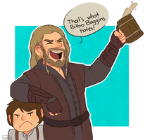 That's what Bilbo hates by M0nzteer