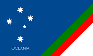 Oceania Union flag. by kyuzoaoi