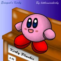 Plushie Kirby by littlemisskirby